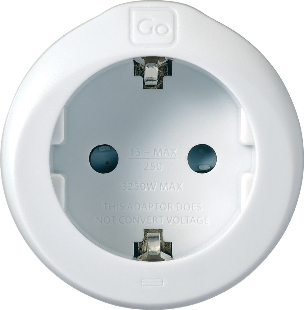 Travel Adapter Eu To Uk Go Travel Earthed European To Uk Adaptor Eu To Uk